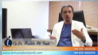Burun Estetiği Masajı Önemi - Mustafa Ali Yanık -