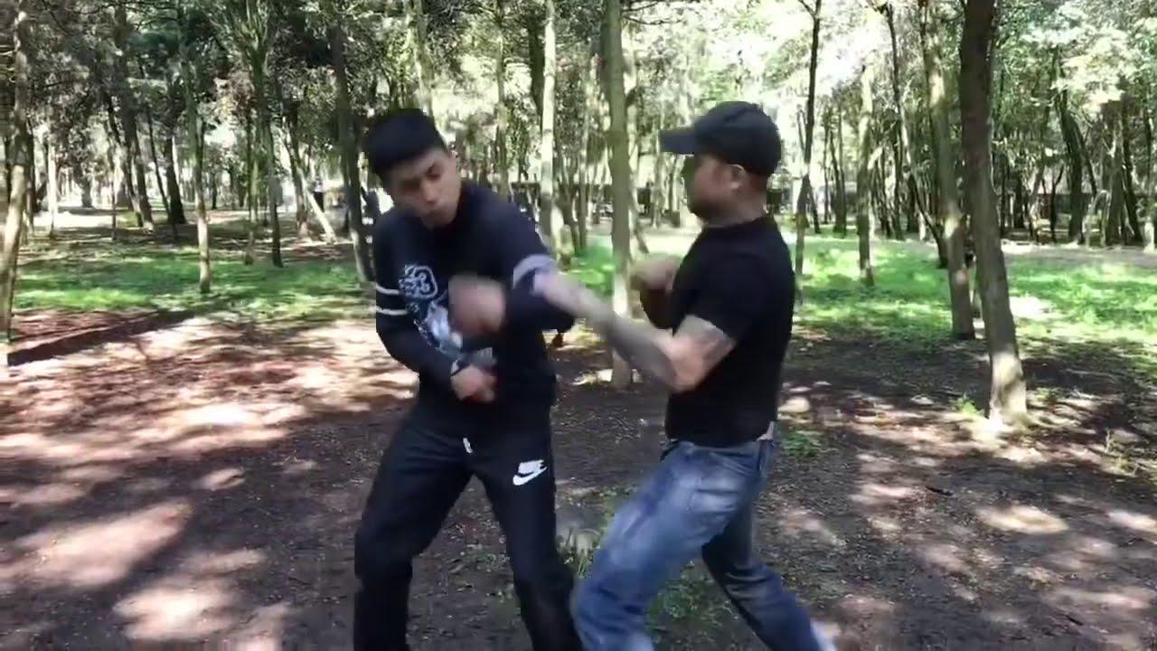 Video archivos CMBTVS: técnicas clásicas de CMBTVS vs. Amenaza de cuchillo