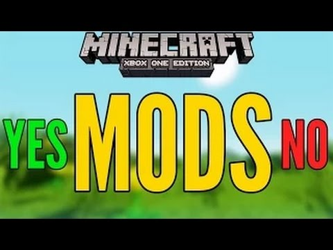 how to get mods on xbox one minecraft