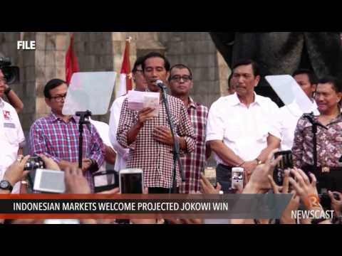 Indonesian markets welcome projected Jokowi win