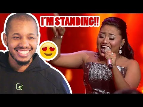 MARIA - STAND UP FOR LOVE (Destiny's Child) - RESULT & REUNION - Indonesian Idol 2018 REACTION