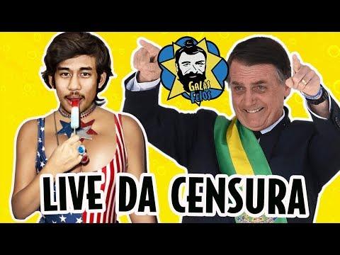 Bolsonaro, Moro, Glenn Greenwald e MBL (LIVE) | Galãs Feios