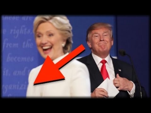 TRUMP NOTICED 1 THING ABOUT HILLARY'S SUIT LAST NIGHT THAT'LL MAKE YOU WANT TO BARF!