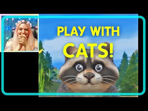 The Sims 4 Pets Cats and Dogs - Playing with Cats Official Trailer Reaction