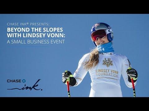 Lindsey Vonn Livestream | Chase Ink