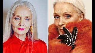Красота вне времени! 65-летняя российская модель украсила обложку известного журнала: мы в восторге