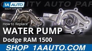 Het Vervangen van de waterpomp 94-02 Dodge RAM 1500