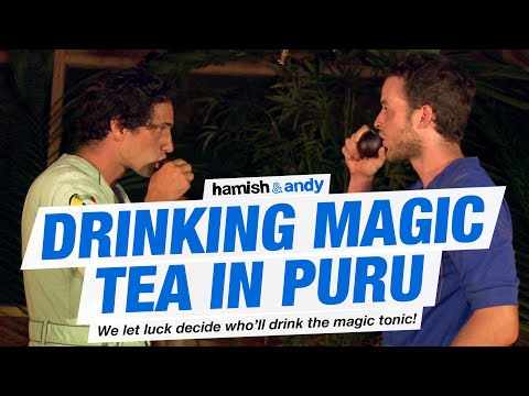 Drinking Magic Tea