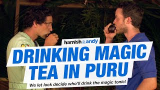 Drinking Magic Tea In Puru