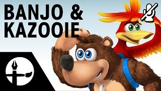 Banjo & Kazooie Smashified - Speed Painting (No Commentary)