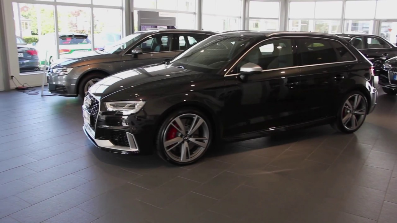 new panther black audi rs3 sportback 400 ps with aluminium. Black Bedroom Furniture Sets. Home Design Ideas