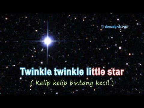 """Lagu Anak Bahasa Inggris Twinkle"""" Little Star + Lirik Dan Arti/Terjemahan"""