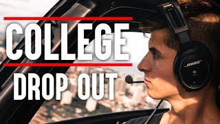 WHY I DROPPED OUT OF COLLEGE | My Story