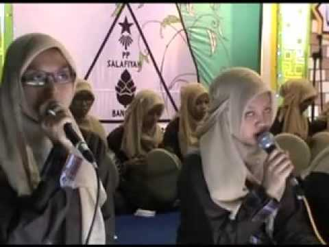 Ahlan Wasahlan Bin Nabi Ponpes salafiyah Putri bangil