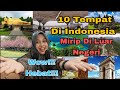 10 TEMPAT DI INDONESIA MIRIP DI LUAR NEGARA- WOW HEBAT!! |REACTION MALAYSIA