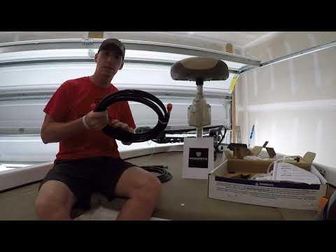 boat steering hook up