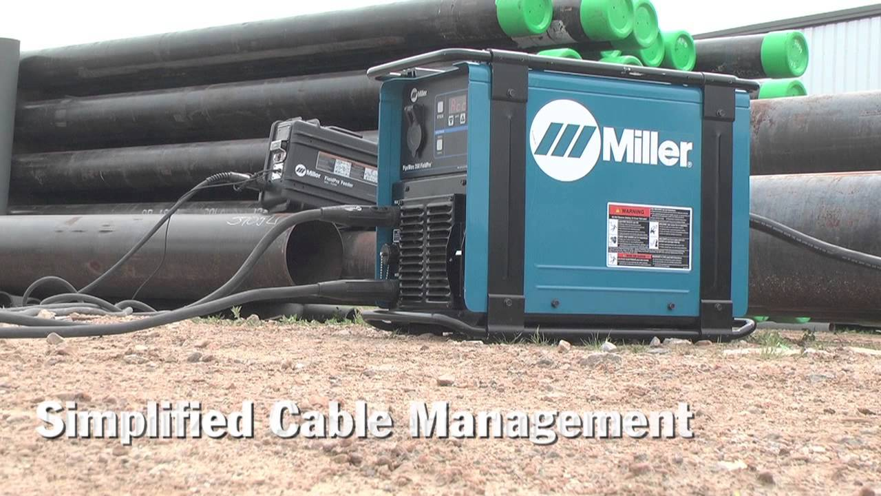 Miller PipeWorx FieldPro Feeder Delivers Excellent MIG and Flux ...