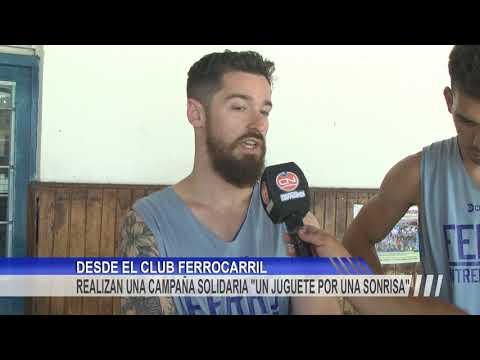 El Club Atlético Ferrocarril Realiza Una Campaña Solidaria