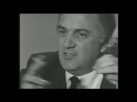 Federico Fellini talks about LSD