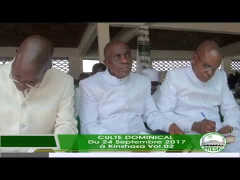 SA DIVINITE SIMON KIMBANGU KIANGANI ATANDI VERITE NA BANA YA CONGO LE 24 SEPT 2017 AKINSHASA