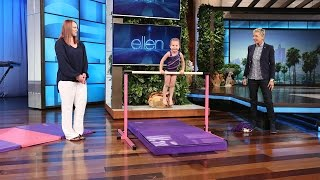 Download This 3-Year-Old Gymnast Is Flipping Awesome Mp3 and Videos