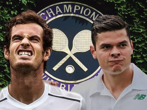 Andy Murray VS Milos Raonic Highlight 2016 F