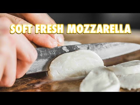 30 Minute Homemade Fresh Mozzarella Cheese