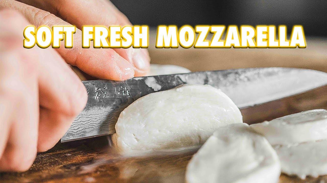 5 Minute Homemade Fresh Mozzarella Cheese