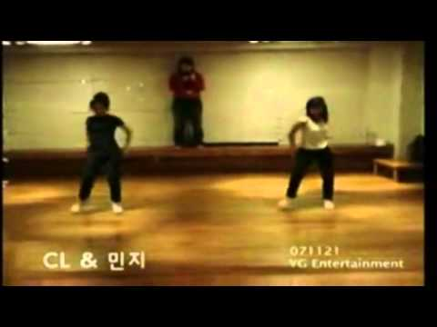 Pre-debut - MINZY and CL Dance to