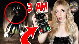 DO NOT CALL CARTOON CAT AT 3 AM!! (*HE CAME TO MY HOUSE*)