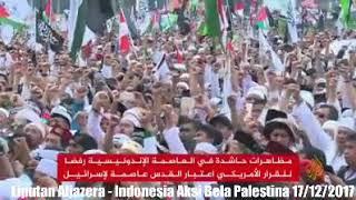 Video Liputan Al-Jazeera - Indonesia Aksi Bela Palestina 17/12/2017 download MP3, 3GP, MP4, WEBM, AVI, FLV September 2018