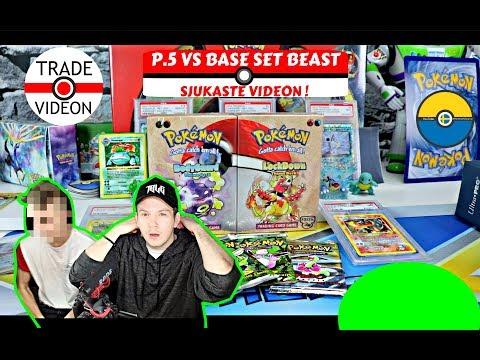 Bytet mellan P.5 &  Base Set Beast! || 2 års väntan är över !! || 1 Editon Base set kort!