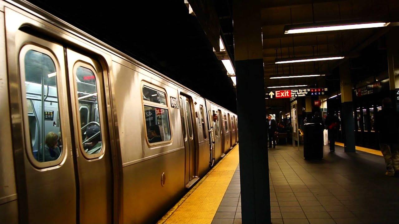 MTA Subways | Coney Island Bound ALSTOM & Kawasaki R160A-2 ...