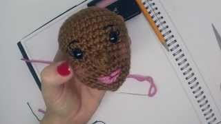 Amigurume Faces -- Crochet Faces On Your Amigurumi Dolls By Craftyiscool