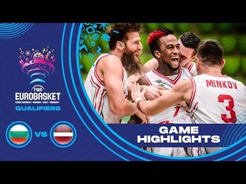 Bulgaria v Latvia - Highlights - FIBA EuroBasket 2021 - Qualifiers