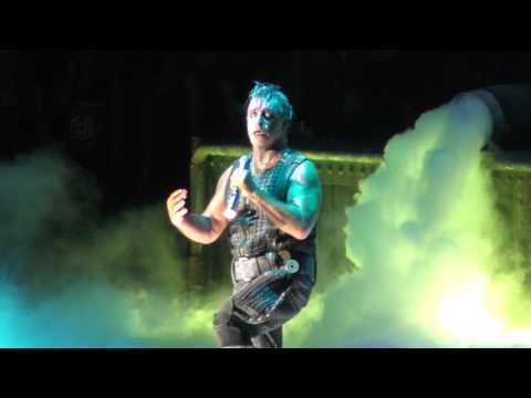 Rammstein - Seemann LIVE Capital of Rock WROCŁAW POLSKA 27.08.2016 FULL HD 1080p AMAZING