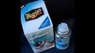 Meguiar's Whole Car Air Re-fresher Odor Eliminator Review - Hoagies Garage