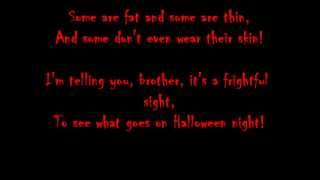 Bing Crosby~Walt Disney's The Headless Horseman Song lyrics