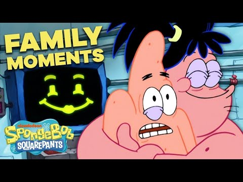 SpongeBob's Top 9 Funniest Family Moments! 👪 SpongeBob SquarePants