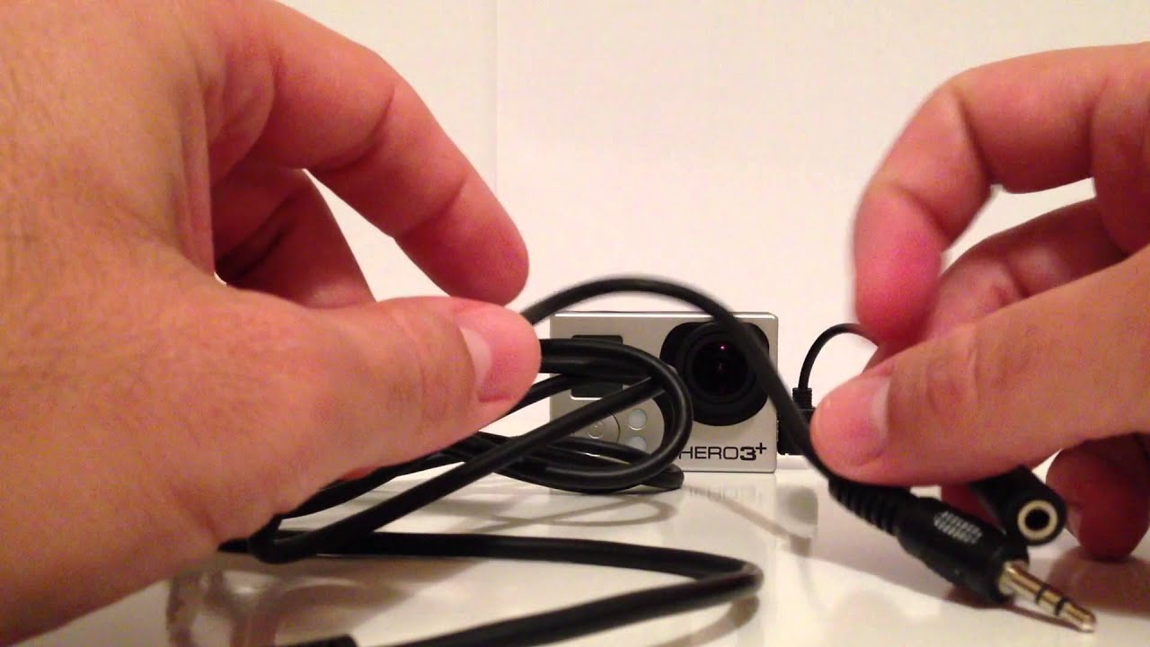 Connect Gopro Hero 3 To The Intercom Youtube Kabel 35mm Mic Adapter Cable For