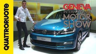Volkswagen Touran, lo stile è tutto | Salone di Ginevra 2015