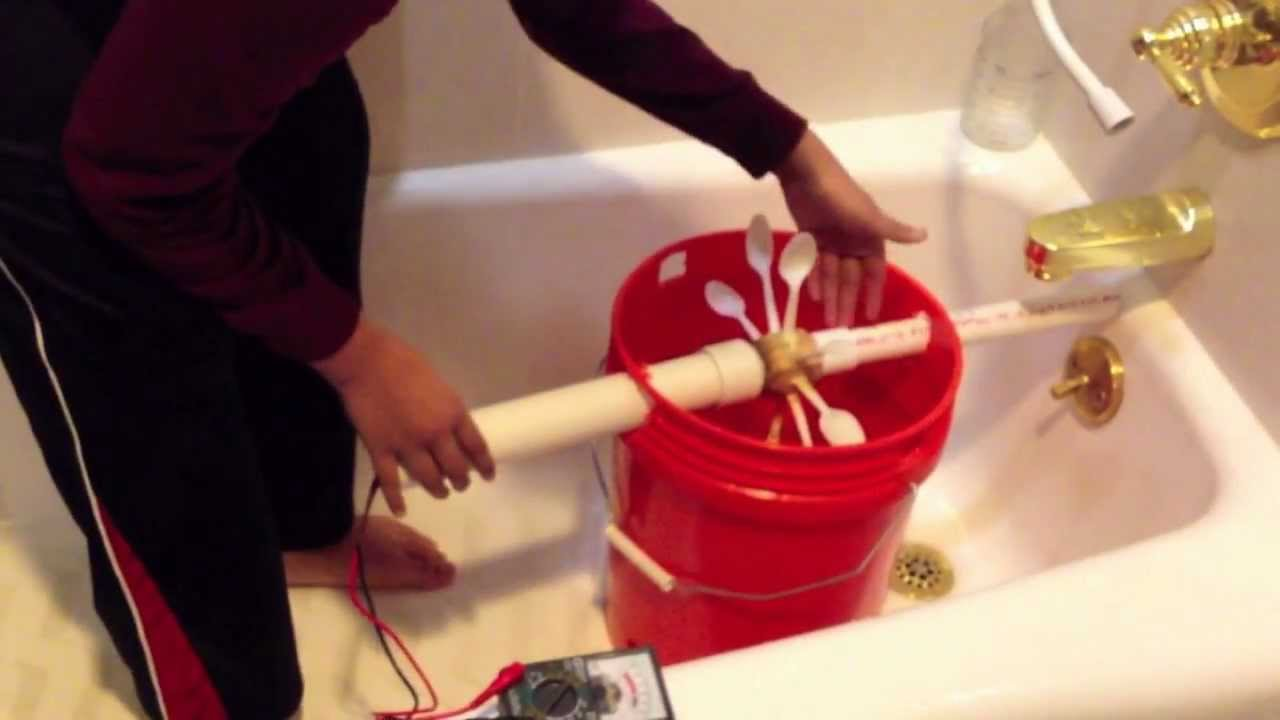 ... using household fixtures - Science Fair Project - YouTube