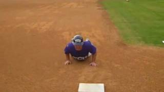 How To Slide Head First -- Coach Mazey Baseball Tips