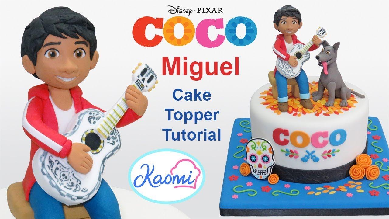 Ver Cómo hacer a MIGUEL (Coco Disney Pixar) || Kaomi Tutoriales en Español