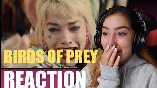 BIRDS OF PREY  DC Trailer 1 Reaction