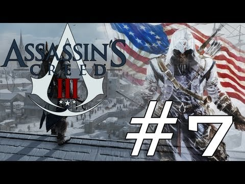 Assassin's Creed 3 First Play - Part 7 - Eavesdrop on Officers