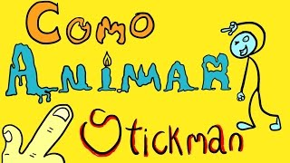 Como Animar un Stickman en Adobe Flash. ¡¡¡muy facil!!! | ATMAN ESTUDIOS
