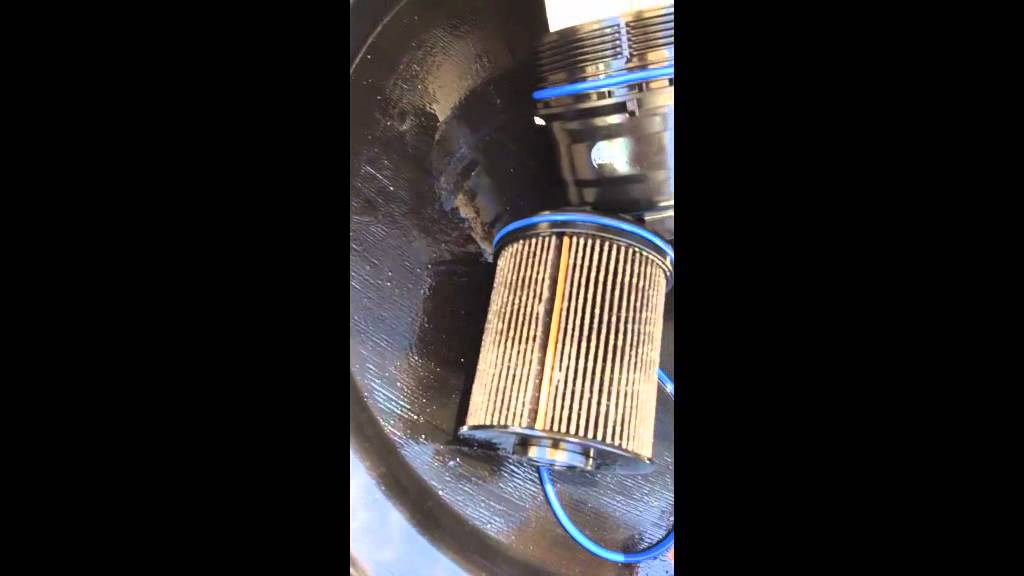 Cruze diesel fuel filter - YouTube