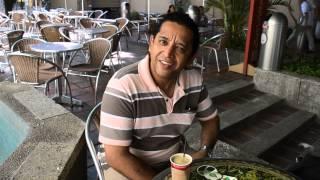 Holmer Pérez un samario que le encanta el café #DíaDelCafé