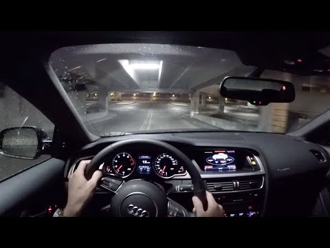 2015 Audi A5 2.0T Coupe (6MT) - WR TV POV Night Drive